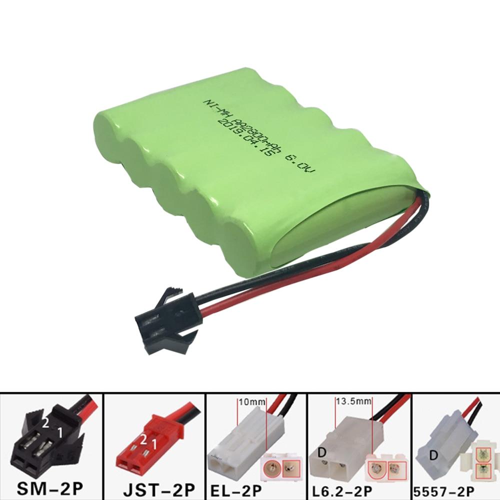 Никель-металлогидридный аккумулятор для игрушек, 6 в, 2800 мАч