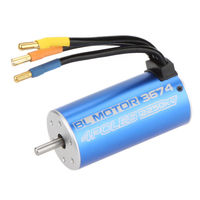 3674 4Poles 2250KV Brushless Motor
