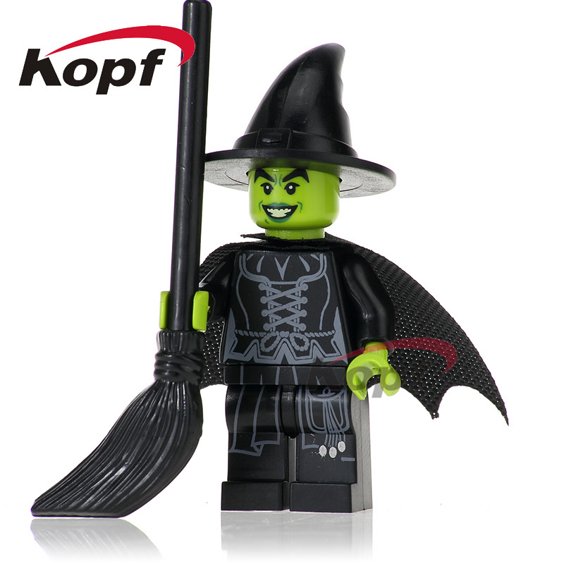 PG256 Building Blocks Wizard of Oz Wicked Witch Figures Super Heroes Star Wars Bricks Collection For Children Bricks Gift Toys qigong legendary animal editon 2 chimaed super heroes building blocks bricks educational toys for children gift kids