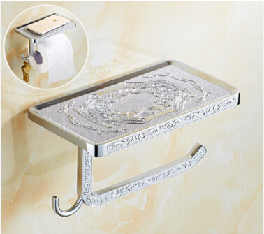 купить  New arrival Toilet Paper Holder,Roll Holder,Tissue Holder,Solid Brass different Finished-Bathroom Accessories Products  недорого