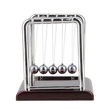 Cradle Steel Balance Ball Physics Science Pendulum Desk Table Decor Fun Toy Gift