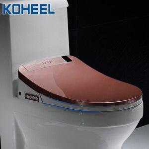 Image 5 - KOHEEL Nhà Tắm Thông Minh Nắp Bồn Cầu Điện Tử Thông Minh Hyundae Bidet Sạch Khô Ghế Ngồi Làm Nóng Wc Vàng Thông Minh Led Ghế Ngồi Vệ Sinh