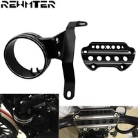 Motorcycle Instrument speedometer Bracket Case Housing Side Mount Relocation Cover For Harley Sportster 883 2004 2018