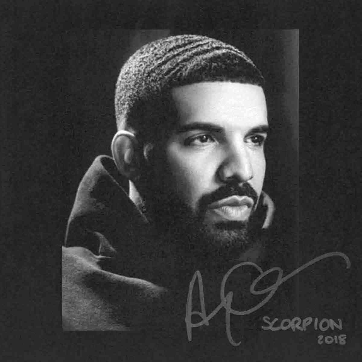 Drake Scorpion 2018 рэп музыкальный альбом хип хоп арт постер принт Настенный декор 12x12 24x24