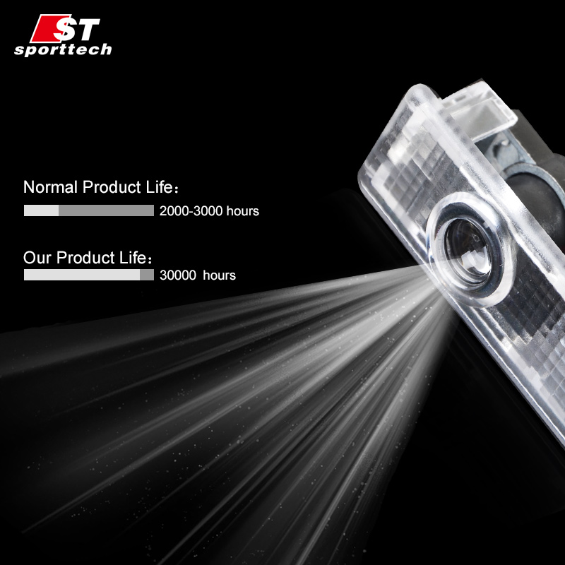 LED Car Door Light For BMW 3 Series F30/F31/F34/F35 Courtesy Laser Projector Welcome Logo Ghost Shadow Light For BMW Accessories 1 pair car led step logo welcome bulbs laser ghost shadow lamps door light projector for audi toyota bmw