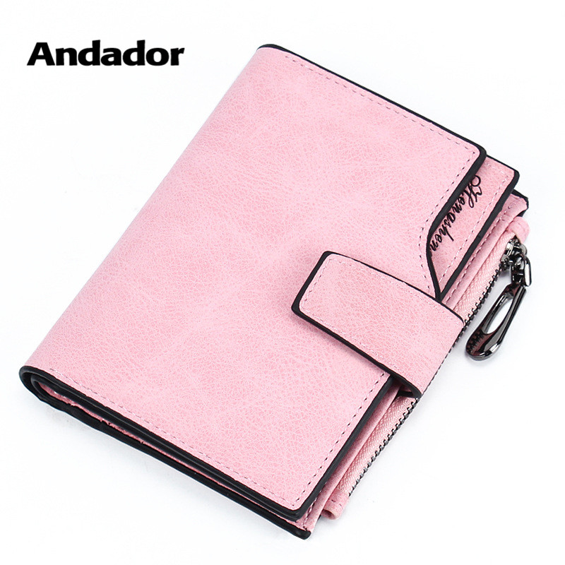 Wallet Women PU 2019 Credit Card Holder Zipper Wallet Short Coin Purse For Cards Purse Portefeuille Zip Card Short Clutch Money(China)