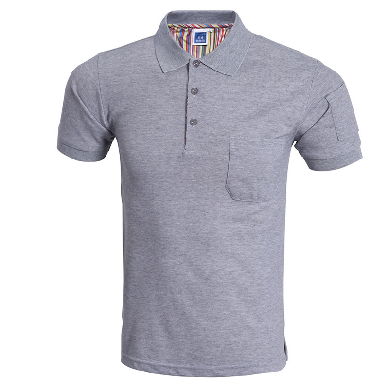 Classic Pocket Men Polo Shirt Polo Homme 2016 Summer Style Solid Color Short Sleeve Mens Polo Shirts Brand Polos 3Xl
