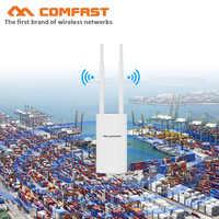 500 Mw 1200M Gigabit Poe Wireless Outdoor Ap 802.11AC Dual Band Wifi Extender Router Ponte 10dBi Antenna Wifi Copertura stazione di Base