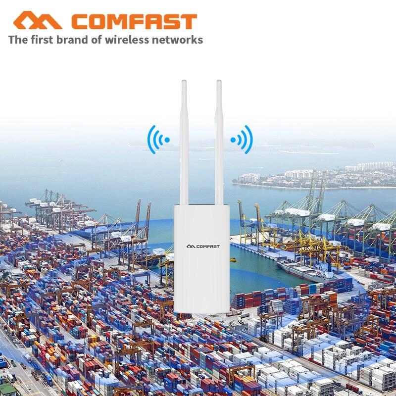 500 mW 1200 M Gigabit Poe Sans Fil AP Extérieur 802.11AC Double Bande Extender Wifi Routeur pont 10dBi Antenne WiFi Couverture station de Base