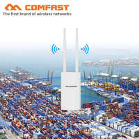 500mW 1200M Gigabit Poe Wireless Outdoor AP 802.11AC Dual Band Extender Wifi Router bridge 10dBi Antenna WiFi Cover Base Station