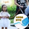 Anti niños perdidos con anillo de cuerda de tracción cuerda perdida anti del niño anti ando perdido pulsera niño