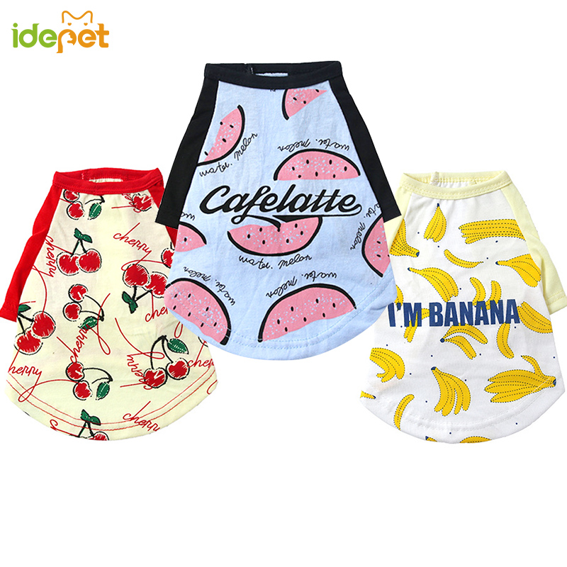 Cute Pet Clothes Sports Dog Vest Pet T Shirt Outfit For Small Dog Vest T-shirts For Dogs Puppy Clothes For Chihuahua Yorkshire 4