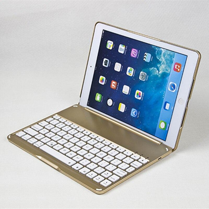 Haute Qualité étui pour iPad Air 2 Sans Fil étui pour clavier bluetooth pour iPad 6 A1566 A1567 étui pour tablette Intelligente Sacs Coque Capa