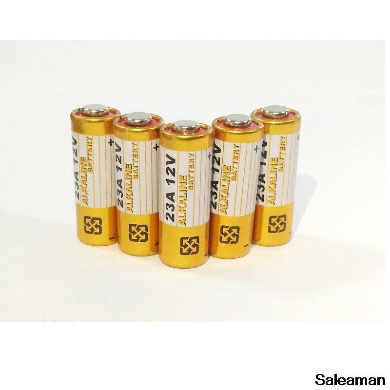 Saleaman 5 шт. щелочных Батарея 12 В 23A Батарея 12 В 27A 23A 12 В 21/23 A23 E23A MN21 RC удаленный Лер Батарея Жестокие часть Батарея