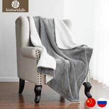 Nuevo 2017 Sherpa Manta de Doble capa Super Suave Manta de Tiro en el Sofá Cama Mantas de Viaje Avión Adultos Cobe Textiles Para El Hogar