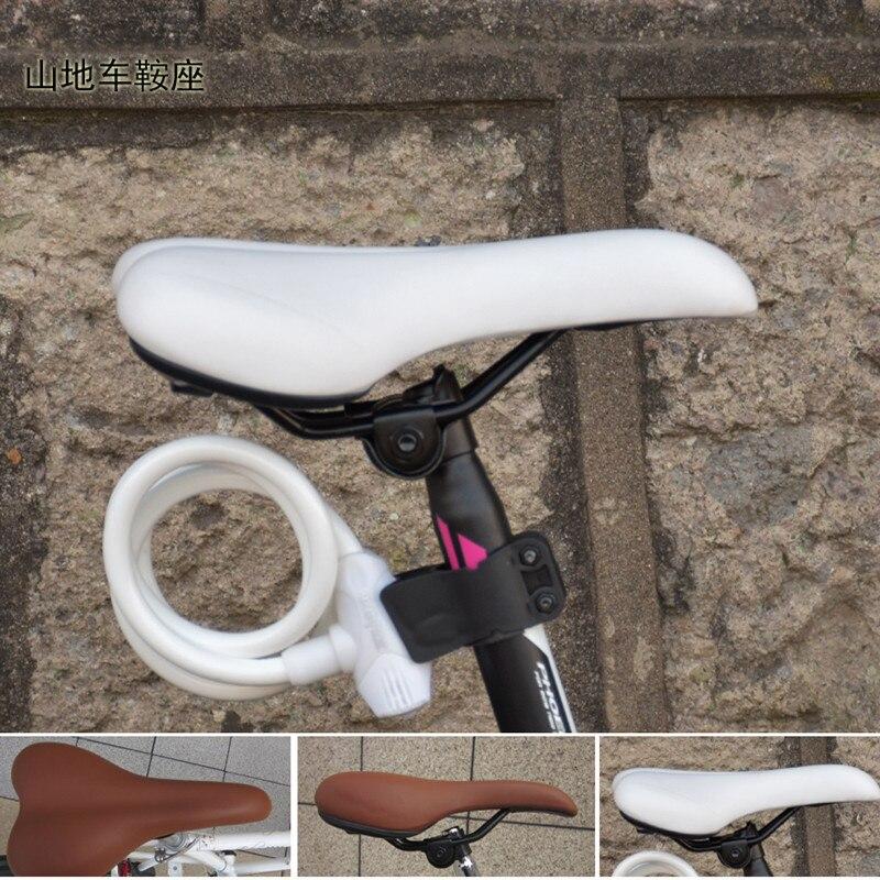 Q1088 font b Bicycle b font Universal font b Saddle b font Vintage Brown White Spring