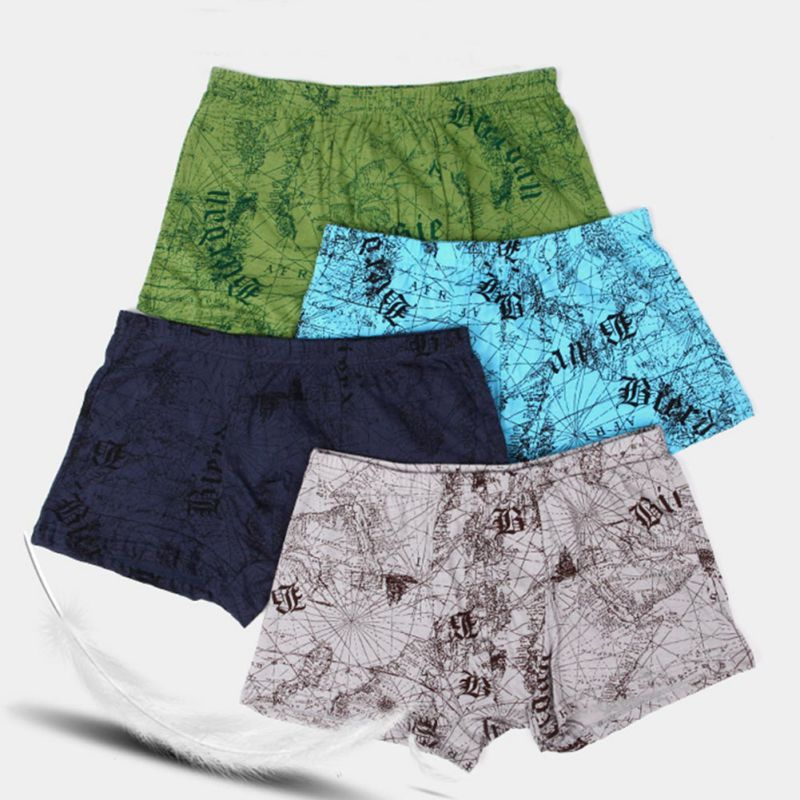 Men Underwear Boxers Sexy underpant Cotton Male Panties Shorts Printing High Quality Brand Mens Shorts