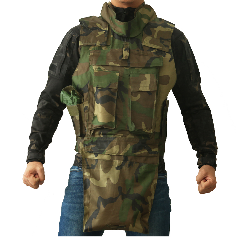 TAK YIYING Airsoft Military Tactical Vest With Tactical Mag Tool DUMP Drop Pouch Bag Recovery Pouch Camouflage