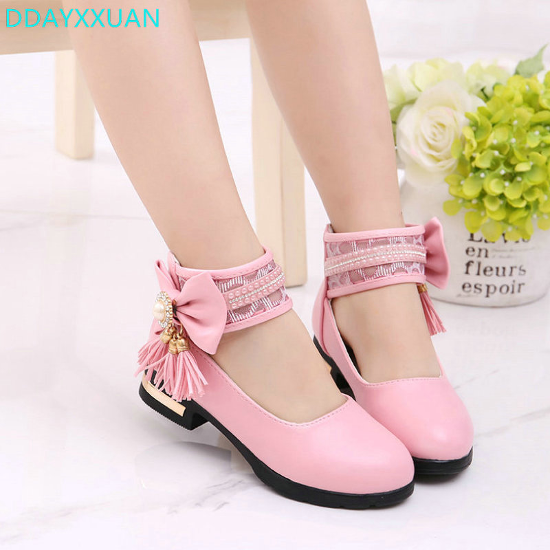 Girls Shoes Sandals Fashion Summer Children Princess Dress Shoes PU Leather Maiden Kids Flat Shoes for Banquet/Wedding/PartyGirls Shoes Sandals Fashion Summer Children Princess Dress Shoes PU Leather Maiden Kids Flat Shoes for Banquet/Wedding/Party