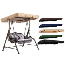 Outdoor Swing Canopy Sunshade Park Seat Garden Waterproof Dust Cover Awning Environmentally Friendly And Durable High Quality цены