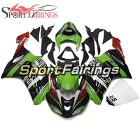 Fairings for Kawasaki ZX 6R 2007 2008 ABS Plastic Injection Body Kits Motorcycle Hulls ZX6R 07 08 Green Black Red White Cowlings