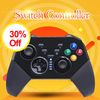 Bluetooth Remote Wireless Pro Gamepads For Nintend Switch Console With Gyro Axis Dual Shock Compatible Mando Controller PC