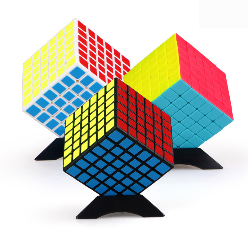 QiYi QIFan6S 6.75mm Magic Cube 6x6x6 Speed Game Speedcube Profession Puzzle 6x6 Cubes Children's Of Cubes Boys Education Toys