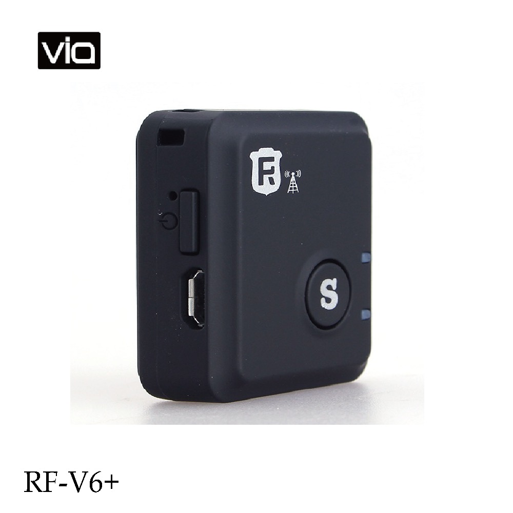 RF-V6+ Direct Factory LBS GSM Tracker Vibration Sensor Alarm Voice Sensor Alarm Function Real-time Personal with SOS Alarm 1 pcs full range multi function detectable rf lens detector wireless camera gps spy bug rf signal gsm device finder