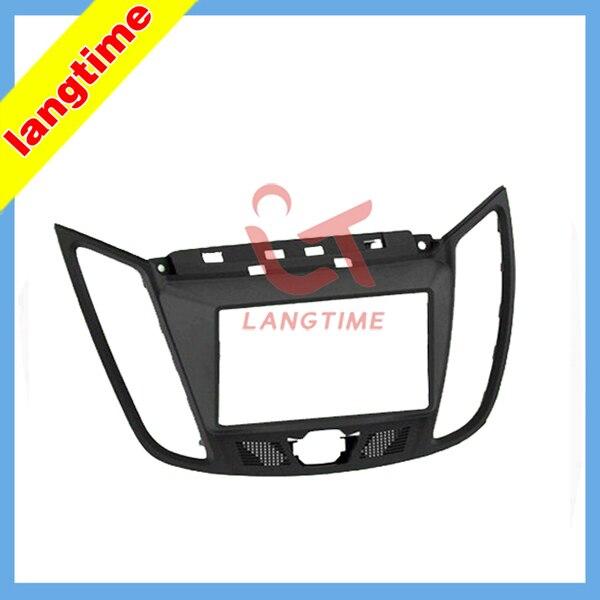 Car refitting DVD frame,DVD panel,Dash Kit,Fascia,Radio Frame,Audio frame for 2011 FORD CMAX,WITH 4.2 Display 2DIN цена