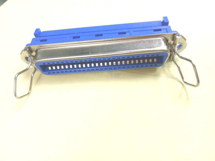 1pcs lot <font><b>50</b></font> <font><b>Pin</b></font> Female Centronic IDC Crimp Connector for SCSI Ribbon <font><b>Flat</b></font> <font><b>Cable</b></font> adapter image