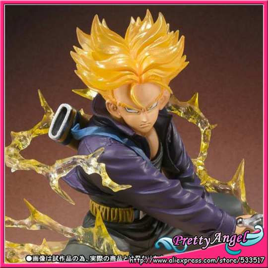 Japan Anime Original Bandai Tamashii Nations Figuarts Zero Dragon Ball Action Figure - Super Saiyan Trunks japan anime dragon ball z 100% original bandai tamashii nations figuarts zero ex completely figure super saiyan trunks