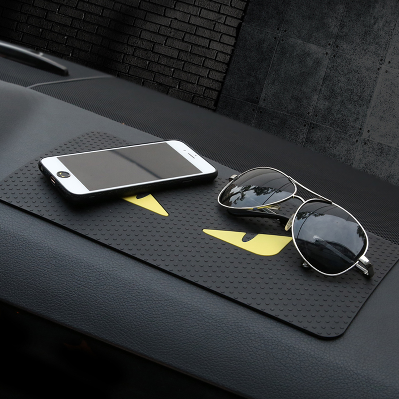 Car Accessories  Slip-resistant Pad Emblem Anti Slip Pad Rubber Mobile Sticky Stick Dashboard Non-Slip Mat Pad Vehicle StylingsCar Accessories  Slip-resistant Pad Emblem Anti Slip Pad Rubber Mobile Sticky Stick Dashboard Non-Slip Mat Pad Vehicle Stylings