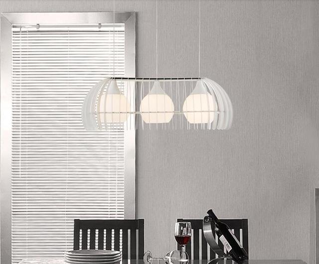 Hanglamp Slaapkamer Wit : Wit zwart eetkamer glazen hanglamp woonkamer lichten slaapkamer