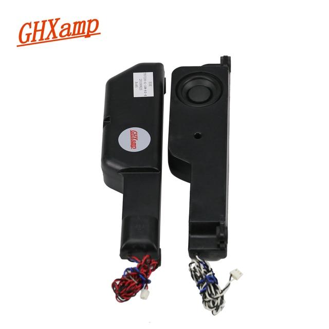 GHXAMP 8 Ом 10 Вт динамик с высокой частотой, ЖК телевизор, неодимовый громкий динамик, сделай сам, эхо, настенный домашний кинотеатр, настольный динамик 2,0 s, 1 пара