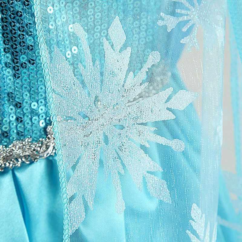 ใหม่มาถึงชุดเจ้าหญิง Anna Elsa คอสเพลย์เครื่องแต่งกายเด็กชุดเด็กเสื้อผ้าเด็ก