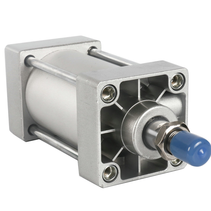 SC63*50 / 63mm Bore 50mm Stroke Compact Double Acting Pneumatic Air Cylinder high quality double acting pneumatic gripper mhy2 25d smc type 180 degree angular style air cylinder aluminium clamps