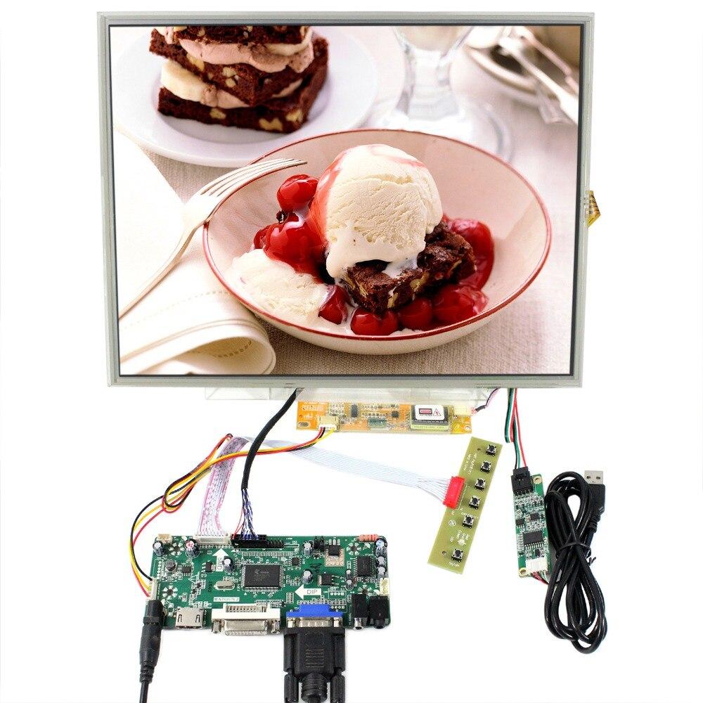 HDMI+DVI+VGA Control Board With 15inch 1024x768 N150XB LTN150XB LCD+Touch Panel LP150XG08 LTN150XB B150XG01 B150XG02 B150XG03 hdmi dvi vga control board 8 9inch n089l6 1024 600 lcd panel touch screen n089l6 l02 hsd089ifw1 b089aw01 v3 ltn089nt01