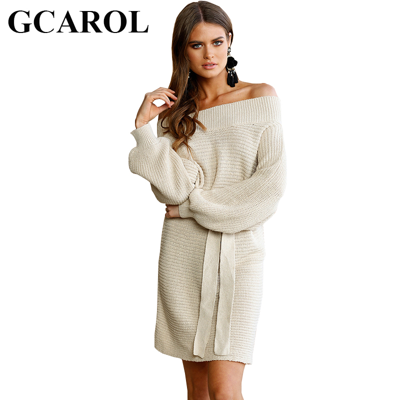 8642300f16e Buy off shoulder loose sweater dress and get free shipping on AliExpress.com