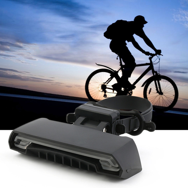 New Bike Lamp LED Remote Control Bicycle Rear Tail Light with Turn Signals