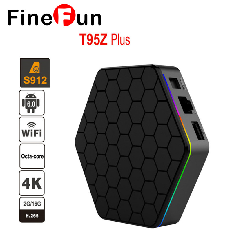 FineFun N Europe Arabic French IPTV Channels included Android 6.0 TV Box S912 T95ZPLUS Support French Iptv Set HD Player android box s912 t95zplus europe french arabic iptv channels smart tv 1300 live hd wifi media player set top box