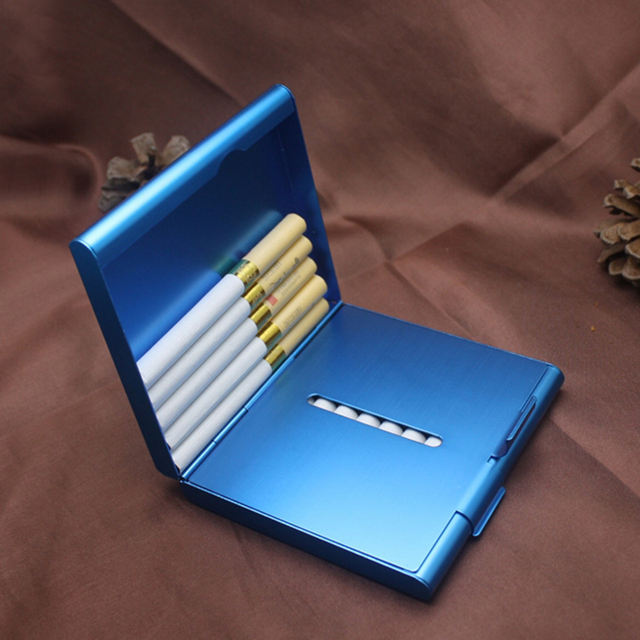 Creative metal box cigarette case