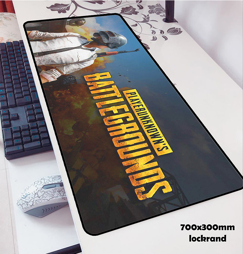 Playerunknown's Battlegrounds Mouse Pads PUBG 70x30cm Pad To Mouse Notbook Mousepad HD Print Gaming Mousepad Gamer To Mouse Mat