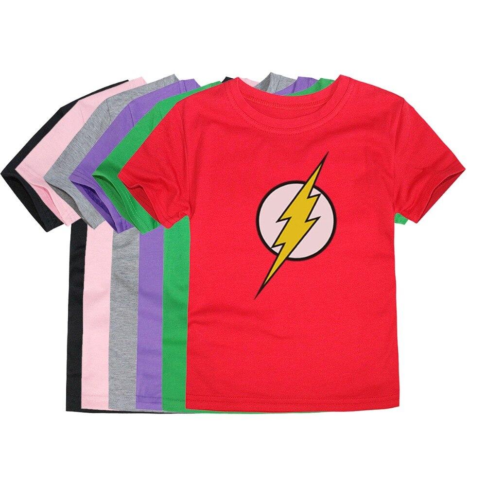 T-Shirt Comic Flash Batman Cosplay Superman Captain-America Little-Bitty Cartoon The