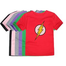 Little Bitty Comic Super Hero T Shirt Superman Batman Captain America the Flash Cartoon Movie Men Boy Cosplay Boys T-Shirts(China)