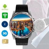 Jakcom KW99 Смарт часы Android 5.1 MTK6580 Bluetooth 3G WI FI GPS часы телефон 8 ГБ Встроенная память мониторинга сердечного ритма умный часы для Для мужчин