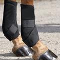Arnés de caballo venda Rodillera Leggings vendaje de la pierna protectores de cuidado del casco Ecuestre Caballo rodilla equipos accesorios