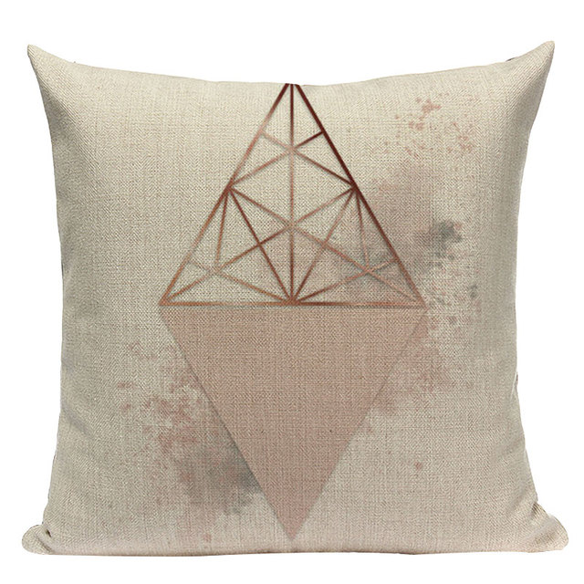 Nordic Pop Geometric Pillowcase Size: L313 Color: L313-10