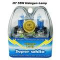 2x H7 Blanco Brillante Estupendo de Niebla del Bulbo de Halógeno 55 W Car Head Lamp Light 12 V