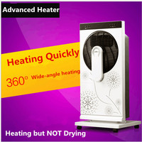 Remote Controlled Humidification Electric Heater Suits For Bathroom And Bedroom