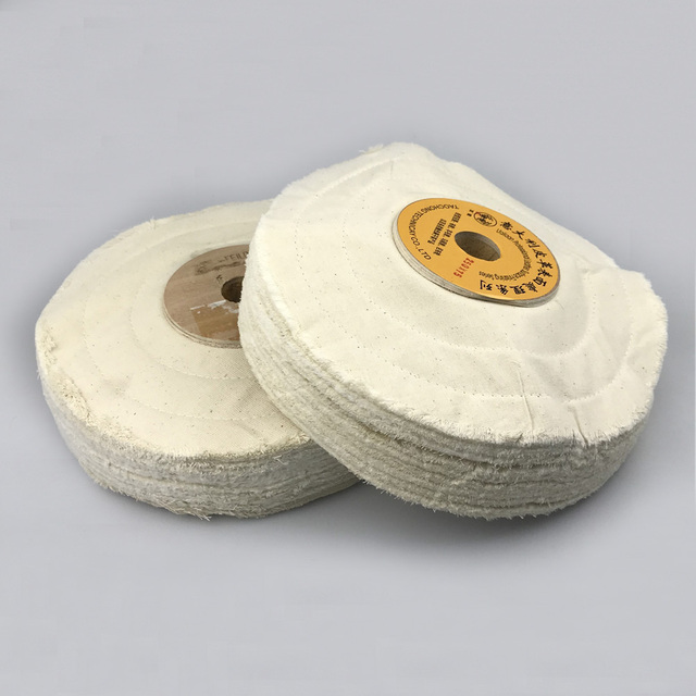 "1 piece 10"" Leather Surface Finishing Buffing Wheel Cloth Polishing Wheel"